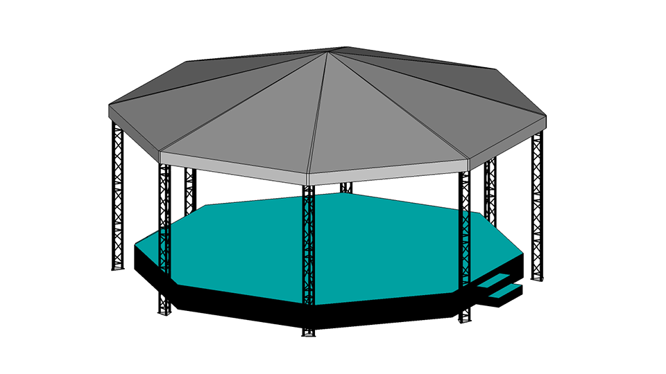 Bandstand Hire 2 with carpet